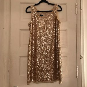 Talbots Sequin Dress